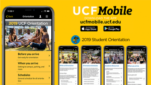 UCF Mobile advertisement